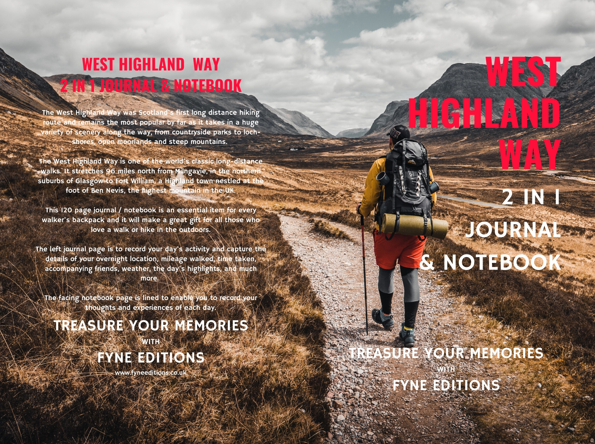 West Highland Way Walking & Hiking Journal