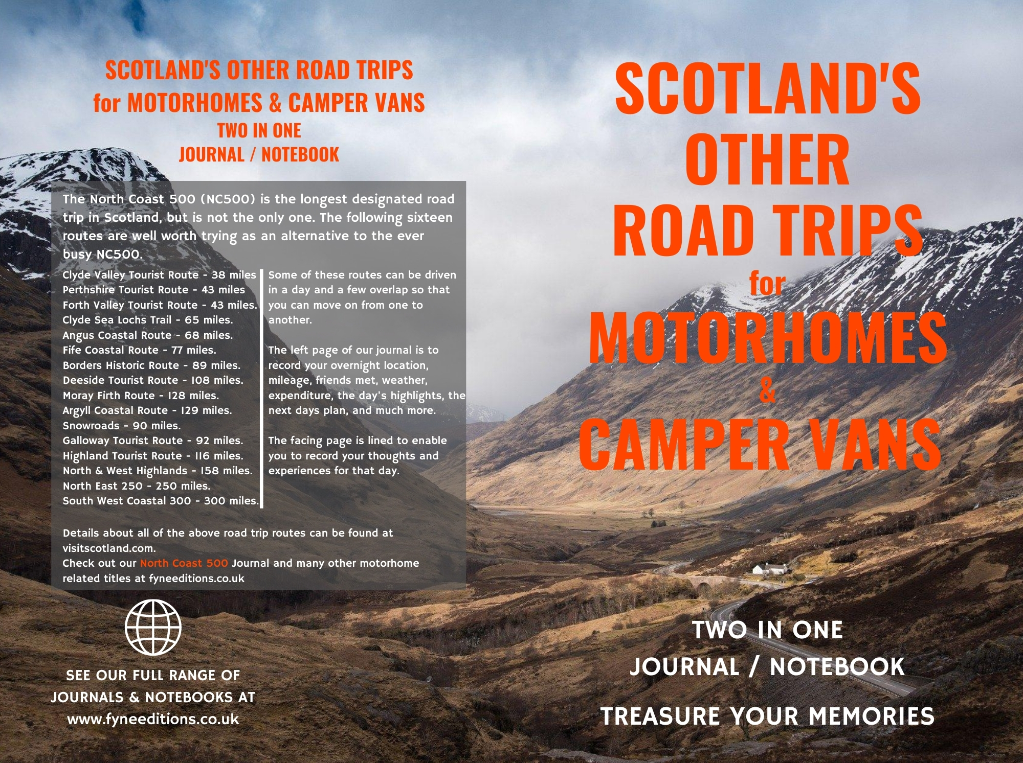 Scotland's Other Road Trips for Motorhomes Cover