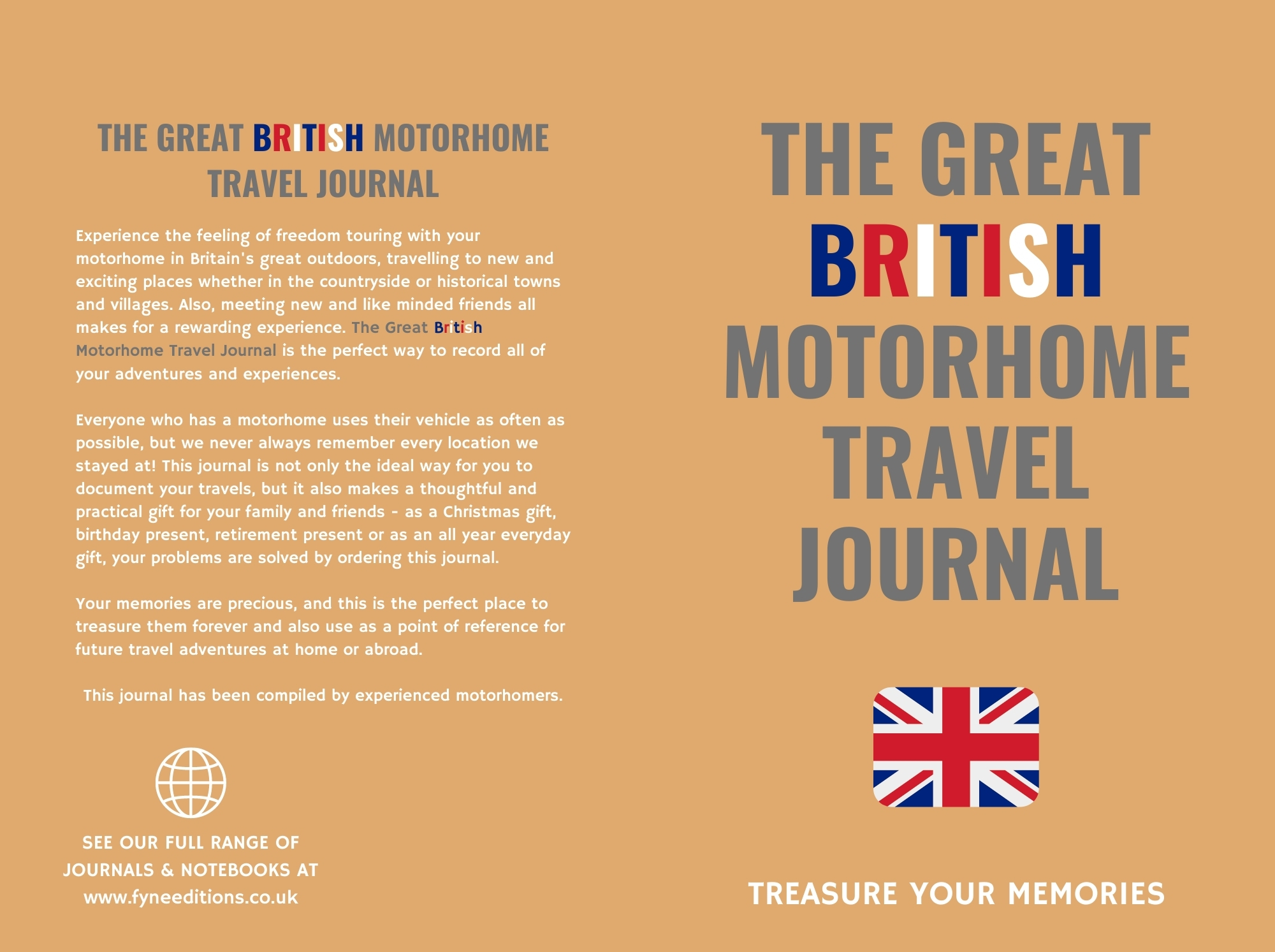 The Great British Motorhome Travel Journal