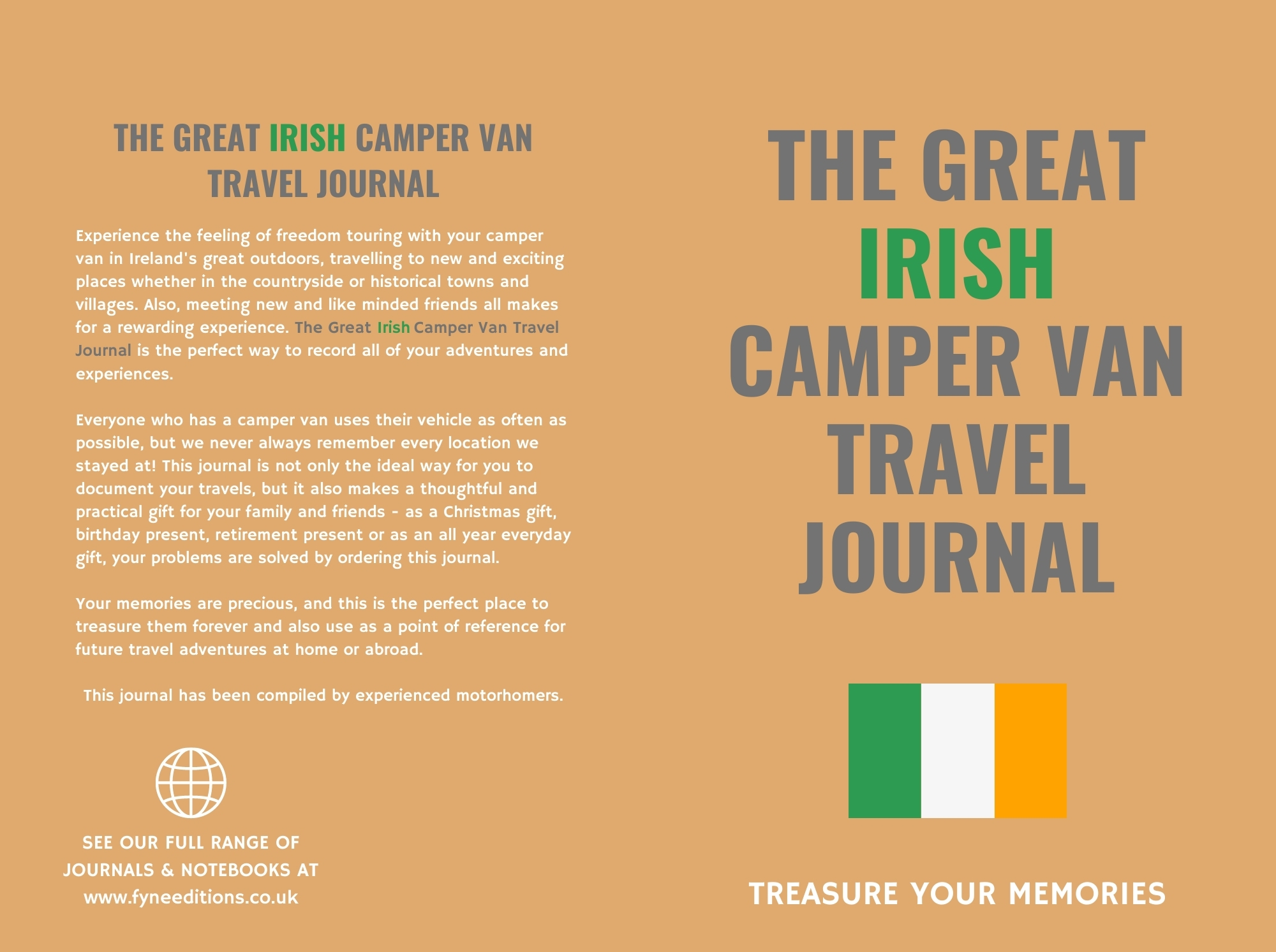 The Great Irish Camper Van Travel Journal