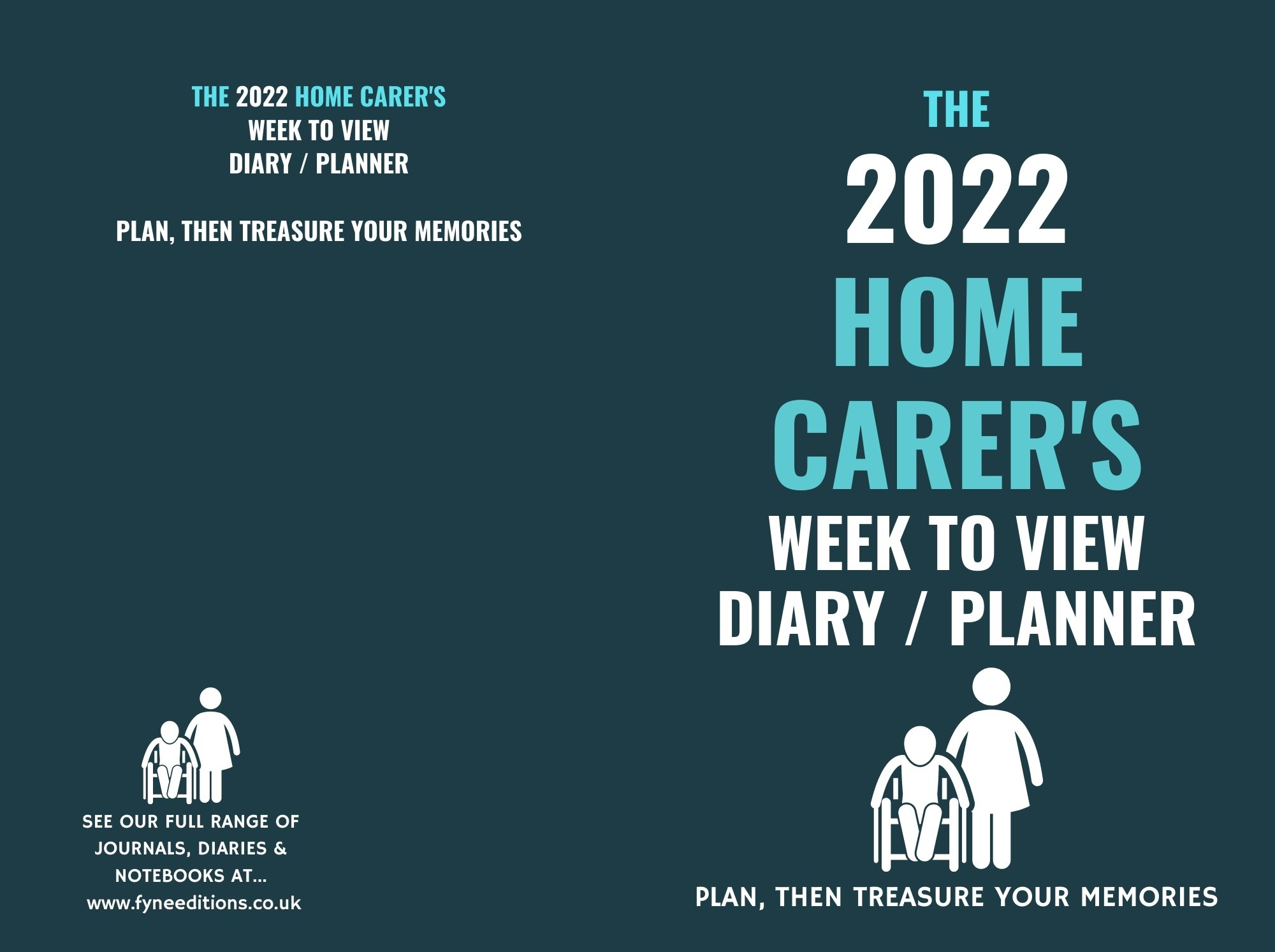 Cover - The 2022 Home Carer's Week to View Diary Planner
