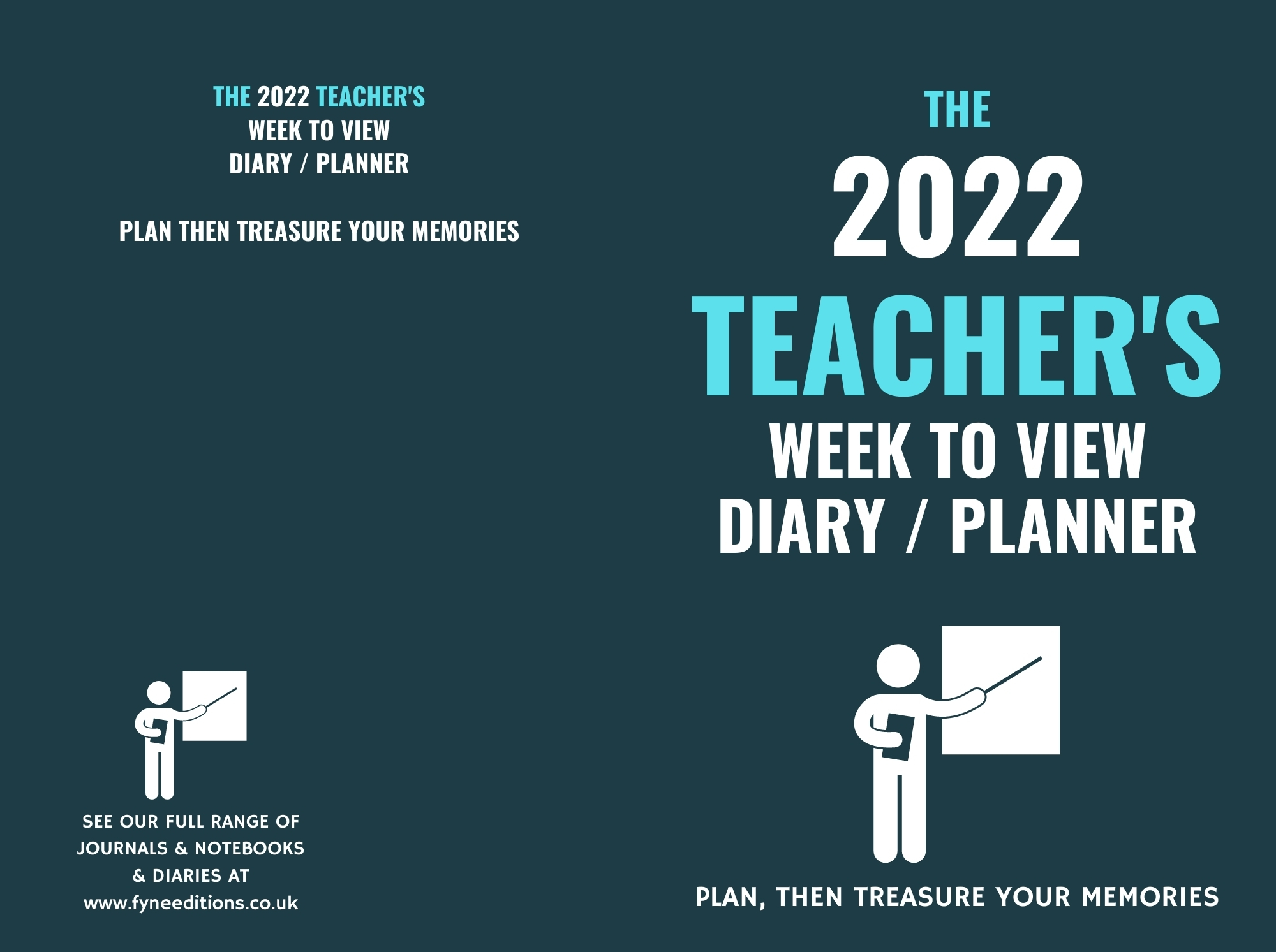 The 2022 Teacher's Week to View Diary Planner - Cover